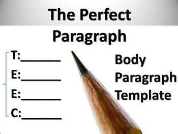 How to write an effective thesis paragraph